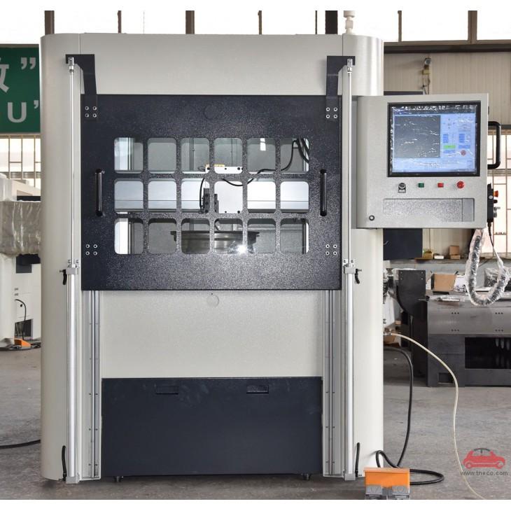 Máy phay mâm tiện mặt mâm ô tô CNC Haishu Trung Quốc CKL-35