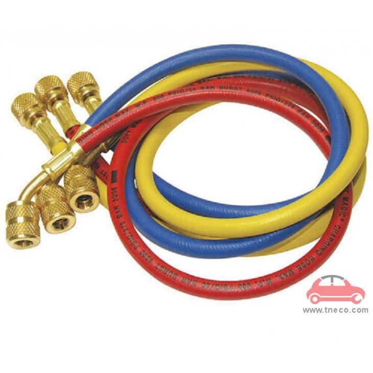 Bộ ống dây sạc ga nạp ga máy lạnh điều hòa ga R12/R22/R502 P&M Đài Loan 360RYB