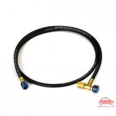 Ống dây nạp ga máy lạnh điều hòa tích hợp van chống bỏng lạnh Đài Loan Tasco Black TCV140M