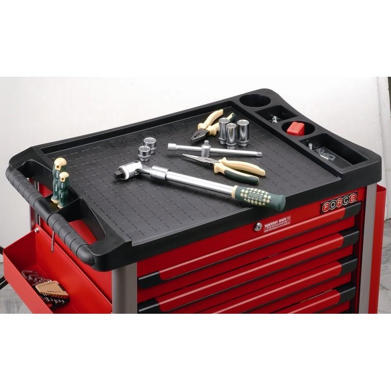 Tủ đồ nghề 5 ngăn bao gồm dụng cụ cầm tay 180 chi tiết 10215R-180