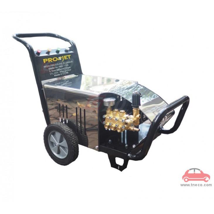 Máy phun nước xịt nước áp lực cao rửa xe ô tô rửa xe tải sàn nhà 3 pha Trung Quốc ProjectP55-1720