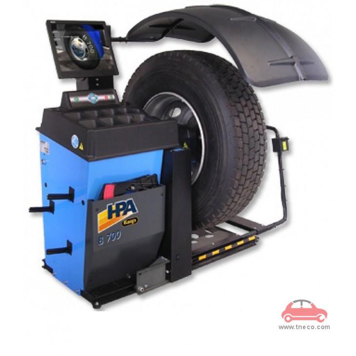 Máy cân bằng động bánh xe mâm xe tải HPA Italy B700