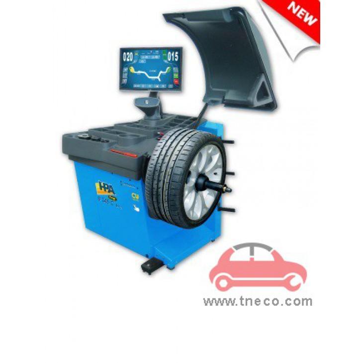 Máy cân bằng động bánh xe mâm xe ô tô tự động HPA Italy B345C EVO (phiên bản mới)