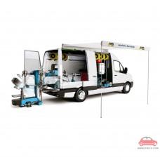 Máy thay vỏ và cân mâm ô tô lưu động HPA Italy M830M