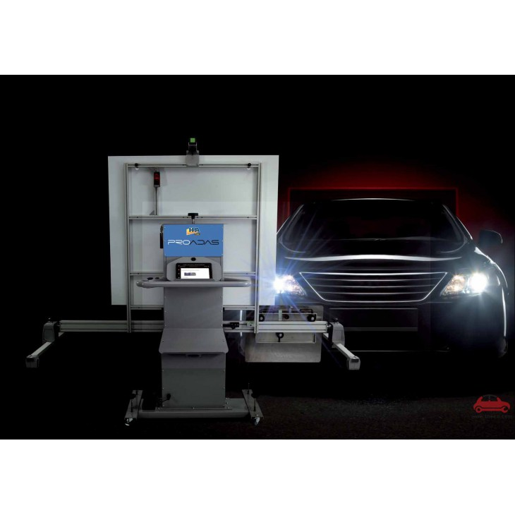 Thiết bị kiểm tra hiệu chuẩn camera quan sát phía trước xe ô tô HPA Italy Ý PROADAS