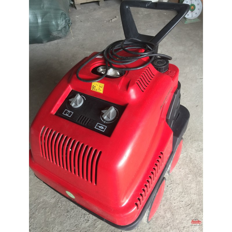 Máy rửa xe ô tô Ý nước nóng lạnh áp lực cao Italy Portotecnica DS 1610M