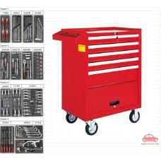 Tủ dụng cụ 6 ngăn 131 chi tiết KWG 1204-131