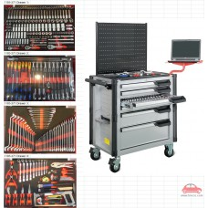 Tủ dụng cụ 6 ngăn 271 chi tiết KWG 1103-271