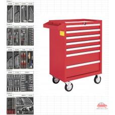 Tủ dụng cụ 7 ngăn 149 chi tiết KWG 1202-149