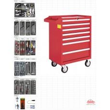 Tủ dụng cụ 7 ngăn 168 chi tiết KWG 1202-168
