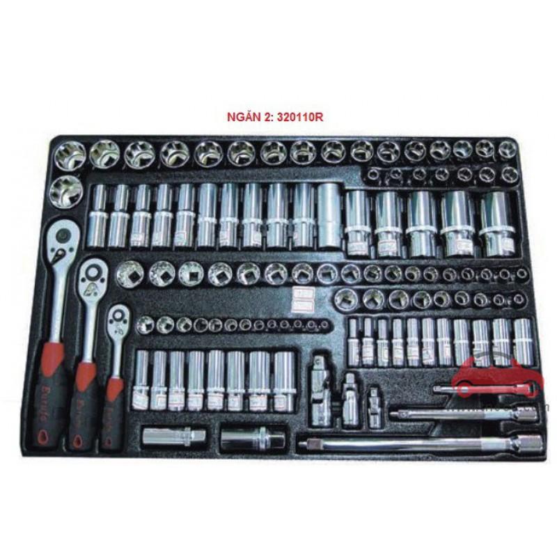 Tủ dụng cụ 7 ngăn 206 chi tiết KWG 1202-206