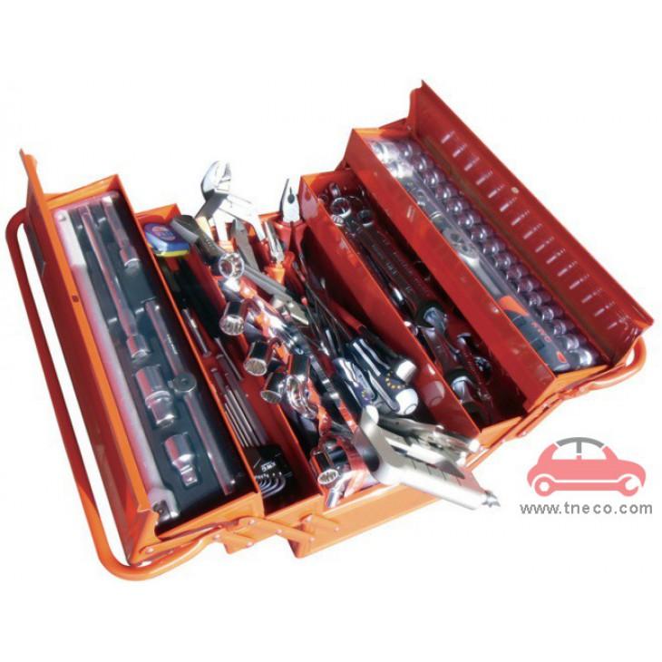 Thùng đồ nghề di động xách tay 105 chi tiết KWG-1405-105