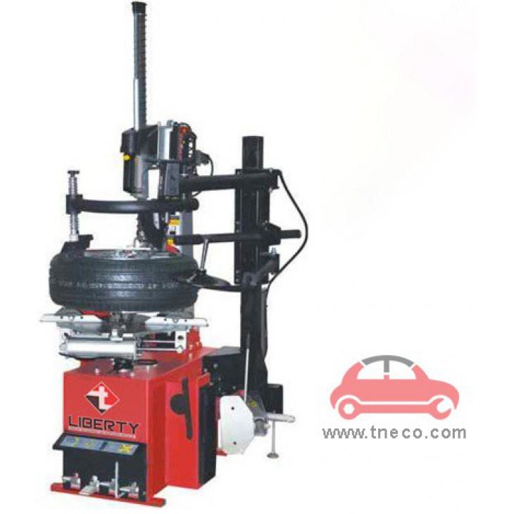 Máy thay vỏ lốp bánh xe ô tô có bộ phận hỗ trợ tỳ đè không lơ via Liberty LC-887-390