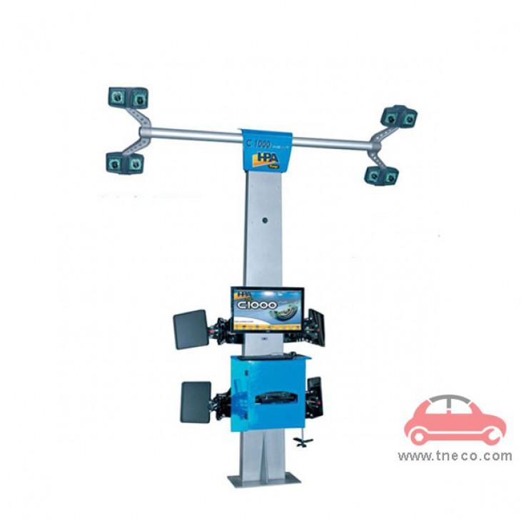 Máy cân chỉnh góc đặt bánh xe ô tô công nghệ camera 3D HPA Italy C1000-iNext