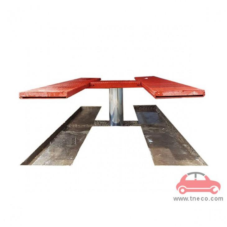 Cầu nâng 1 trụ rửa xe ô tô âm nền sức nâng 4 tấn TT-4000A