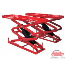 Cầu nâng cắt kéo nâng bụng ô tô âm nền Liberty LT-3500E