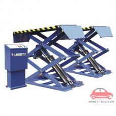 Cầu nâng cắt kéo kiểu nổi nâng bụng xe ô tô Liberty-TF3000