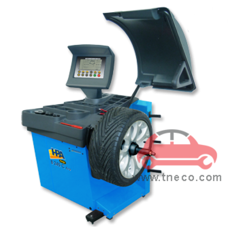 Máy cân bằng động bánh xe mâm xe ô tô HPA Italy B245 EVO