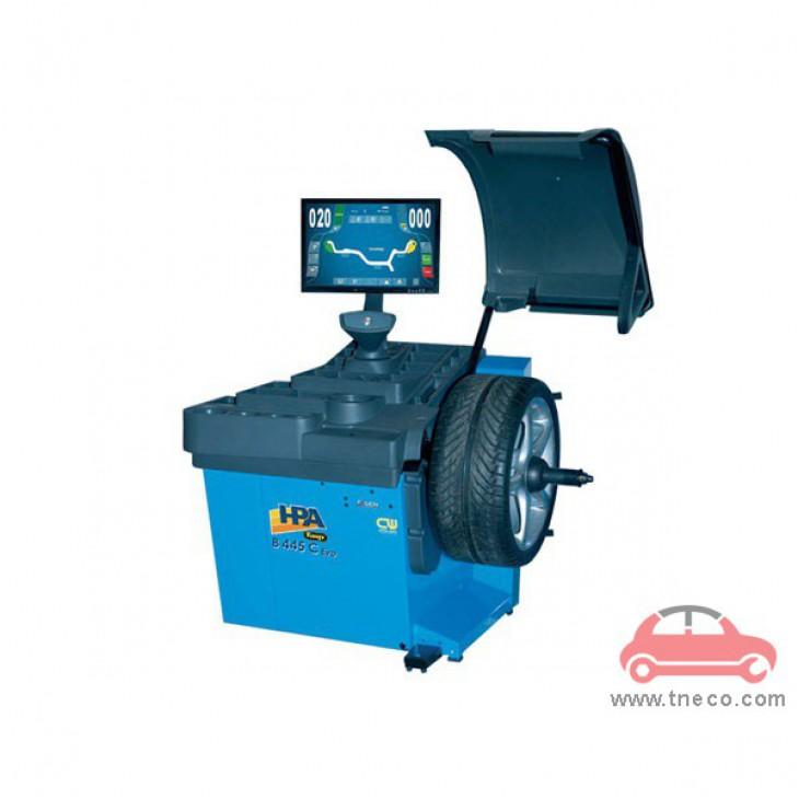 Máy cân bằng động bánh xe mâm xe ô tô tự động HPA Italy B445C EVO