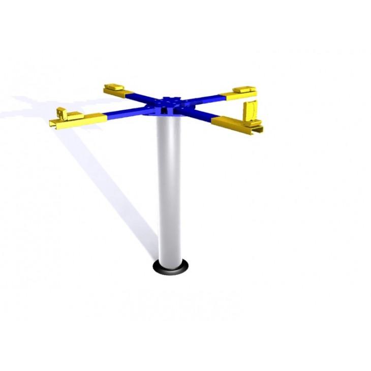 Cầu nâng 1 trụ chữ X rửa xe ô tô JRX-622E
