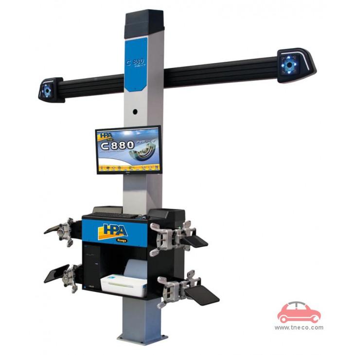 Máy cân chỉnh góc đặt bánh xe ô tô công nghệ camera 3D HPA Italy C880-iNext