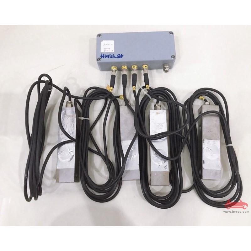 Cảm biến cân trọng lượng trục xe thiết bị kiểm tra phanh xe con