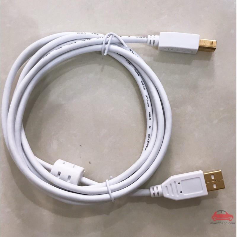 Dây USB mạ đồng kết nối máy tính dài 2m