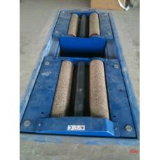 Ru lô phủ sỏi plastic máy kiểm tra phanh xe tải