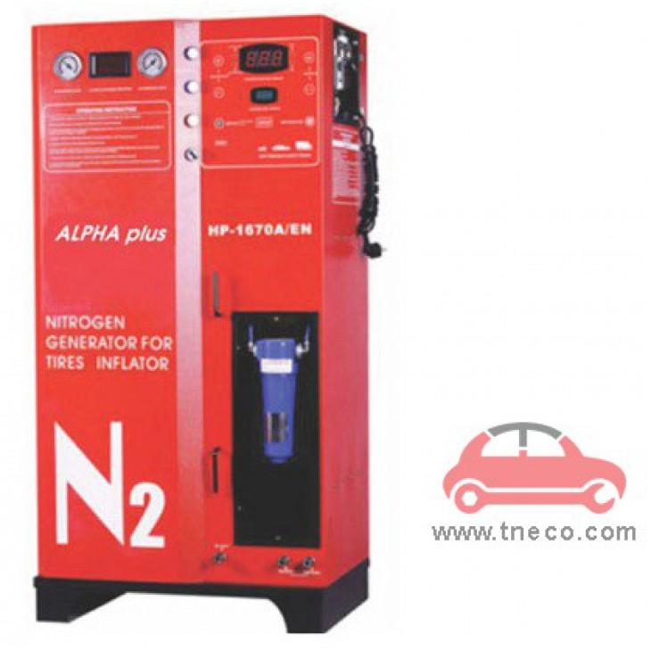 Máy bơm khí ni tơ cho xe ô tô xe du lịch Alpha Plus HP-1670A