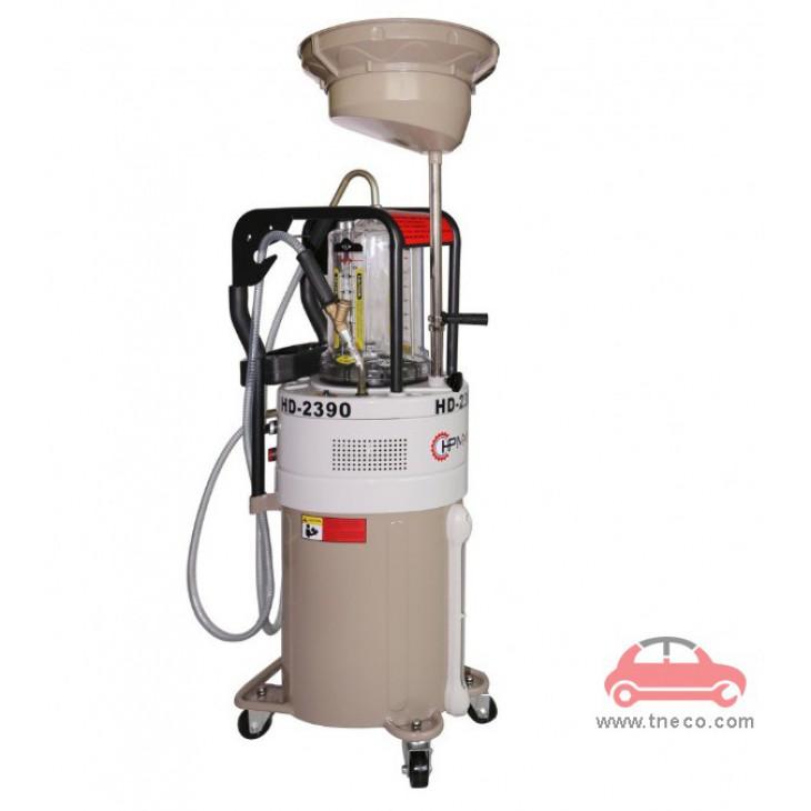 Máy hút nhớt thải dầu thải động cơ xe ô tô dùng điện HPMM Trung Quốc HD-2390