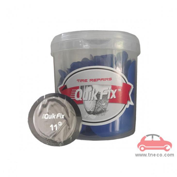 Miếng vá săm ruột vỏ lốp xe máy xe ga xe mô tô xe du lịch hình tròn 45 mm giá rẻ Quik Fix Mỹ no.11