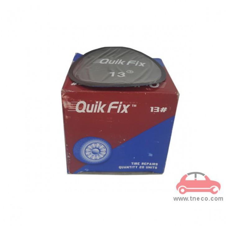Miếng vá săm ruột vỏ lốp xe máy xe ga xe mô tô hình tròn giá rẻ Quik Fix Mỹ No.13