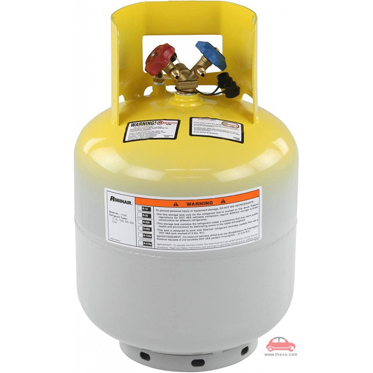 Bình chứa gas lạnh điều hòa thu hồi Robinair 17506