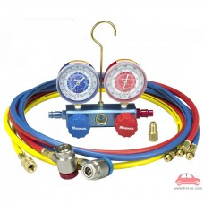 Bộ đồng hồ nạp ga sạc ga lạnh R-1234yf điều hòa ô tô Robinair Mỹ ROB-41234