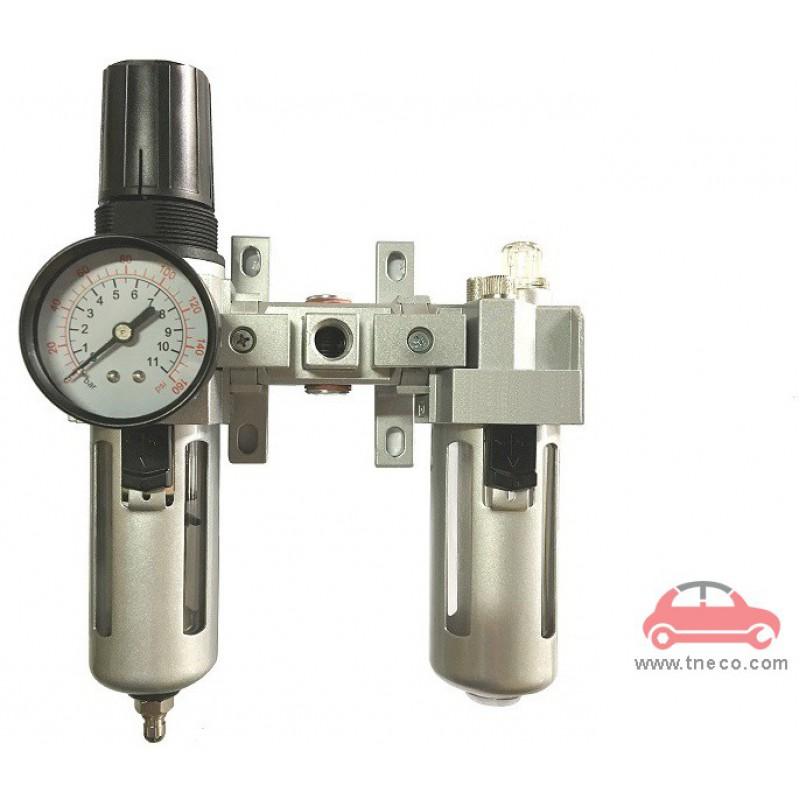 Bộ đồng hồ điều áp lọc khí nén Đài Loan THB FRL554K