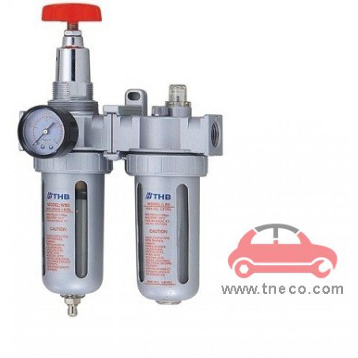 Bộ đồng hồ điều áp lọc khí nén Đài Loan THB FRL834H