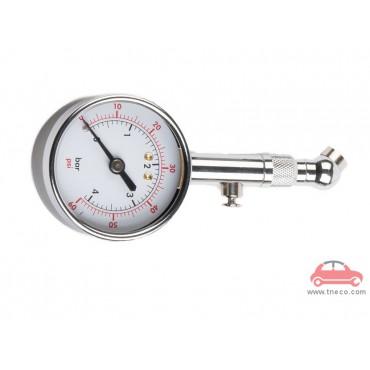 Đồng hồ kiểm tra áp suất lốp xe bánh xe ô tô hiển thị kim THB Đài Loan B27