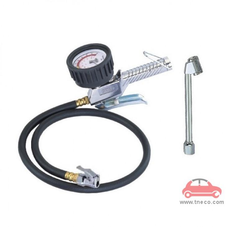Đồng hồ bơm và kiểm tra áp suất lốp xe bánh xe ô tô hiển thị kim THB Đài Loan B24A
